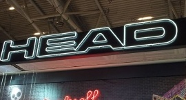 """HEAD"" custom neon sign"