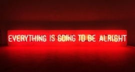 """""""Everithing.."""" custom neon sign"""